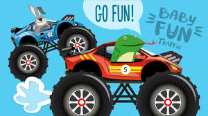 monster trucks racing videos car cartoons for kids monster truck racing videos for kids