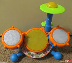 Drum Set Lights Vtech Kidi Beats Drum Set Lights And Sounds Baby Toy Darling Euc