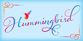 hummingbird fonts by laura worthington fontspring