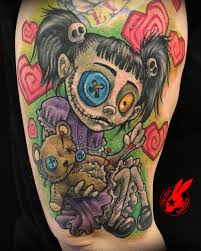 evil rag doll spirit halloween voodoo tattoo voodoo dolls voodoo and voodoo tattoo