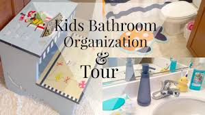 bathroom organization kids edition diy youtube