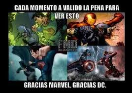 Meme Marvel - gracias dc y marvel meme by ruben jr angel memedroid