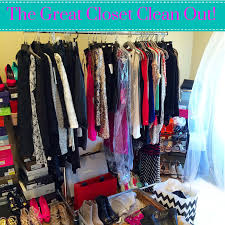 the great closet clean out