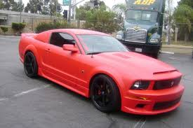Black Red Mustang 20