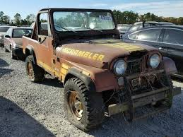 jeep scrambler for sale 1984 jeep scrambler for sale tx houston salvage cars copart usa