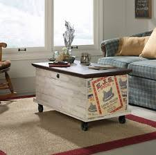 Coffee Table Chest Storage Trunk Coffee Table Ebay