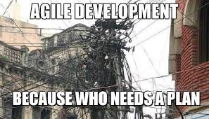 Agile Meme - planning is key to agile development agileflow
