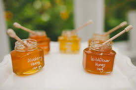 honey jar wedding favors honey wedding favors canada tbrb info
