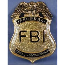 Federal Bureau Of Investigation Welcome To Fbi Badge F B I Federal Gold Metal 2 5 The Bazaar