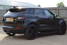 new land rover evoque used land rover range rover evoque 2 0 td4 se tech 5dr auto 4wd
