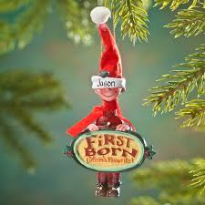 Twins First Christmas Ornament Mom U0027s Favorite Child Ornament Personalized Ornament Miles Kimball
