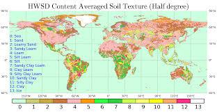 Map Types Soil Texture Map