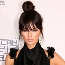 celebrity hair trends top knots on the red carpet thefashionspot