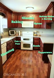 How To Organize Your Kitchen Countertops Kitchen Counters And Zones Organize 365