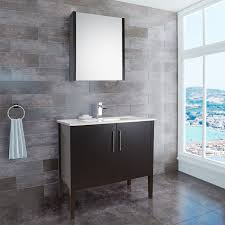 vigo 36 inch maxine modern bathroom vanity espresso black matte finish