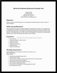 Senior Systems Engineer Resume Sample by Electrical Engineer Resume Is Astounding Ideas Which Can Be