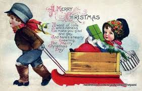 these adorable vintage christmas cards will make you yearn for a