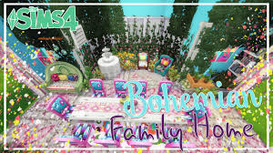 let u0027s room build the sims 4 bohemian dining room youtube