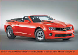 evolution of the chevy camaro comeback of the copo camaro