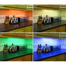 COLOUR CHANGING LED KITCHEN  UNDER CABINET LIGHTING SET INCLUDES - Kitchen under cabinet led lighting