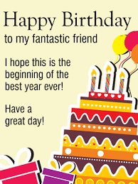 a day happy birthday card for friends wishing you a
