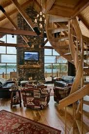 interior design for log homes a mountain log home in new hshire golden eagle wood flooring