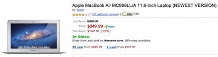 amazon black friday mac book air black friday promotion apple macbook air ลดราคา เหล อ 849 99