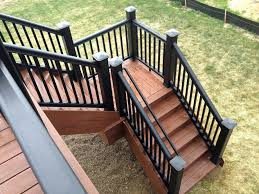 hills composite deck construction stairs angle plans malibu stair lighting