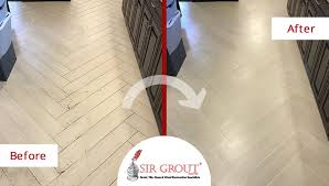 Grout Cleaning Service From Shabby To Spotless A Renowned Bank U0027s Tile Floor In Franklin