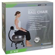 Pilates Ball Chair Size by Purathletics Ball Chair Wte10441 Black Stability Balls