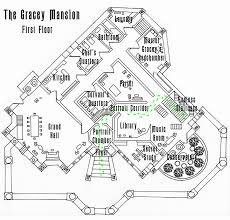 Mansion Plans Haunted Mansion First Floor Plan Wip By Shadowdion On Deviantart
