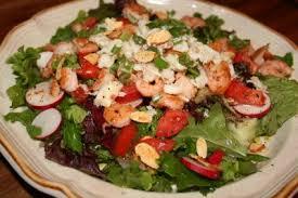 Salad Main Dish - deep south dish shrimp and crab mixed garden main dish salad