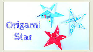 origami star how to fold a five pointed origami star star