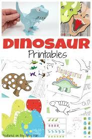 ton free dinosaur printables kids dinosaur printables
