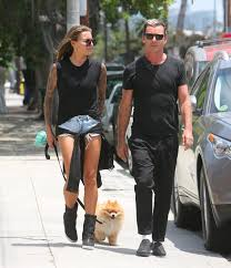 judge gavin rossdale 51 steps out with his