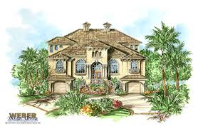 mediterranean style home plans portofino house plan weber design group naples fl