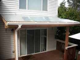 Patio Awning Metal Popular Of Metal Patio Cover With Before And After Patio Cover