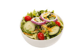 side salad back yard burgers