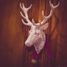 Fake Deer Head Wall Mount Reindeer Head Wall Mount Digital Sculpture With Tree Types Of Antlers