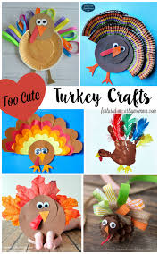 10 turkey crafts for artsy momma