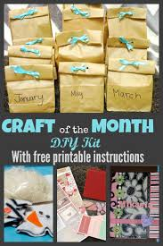 diy kits diy craft of the month subscription kit for kids fun and creative
