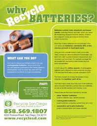 why recycle batteries electronic recycling