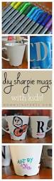 diy sharpie mugs with kids christmas gifts craft and gift