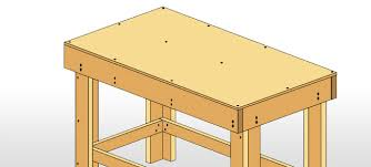 how to build a work table how to build a workbench easy diy plans lowe s