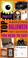 scary halloween party invitations halloween party invitation ideas