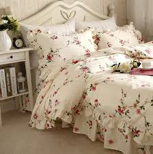 Princess Duvet Cover Aliexpress Com Buy European Pastoral Bedding Set Ruffle Plum