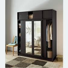 porte coulissante chambre commode porte coulissante inspirant armoire avec penderie pas cher