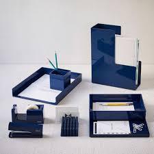 Restoration Hardware Desk Accessories Color Pop Office Accessories Navy West Elm