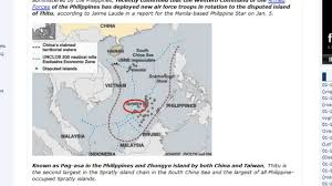 Spratly Islands Map China Launches Restricted Battle On Philippines Over Spratly