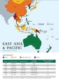 North Asia Map by Australia And The Anti Trafficking Regime